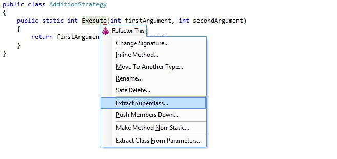 how to create a superclass on unreal