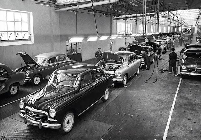 60 years ago the first Seat 1400 rolled off the production line in Barcelona
