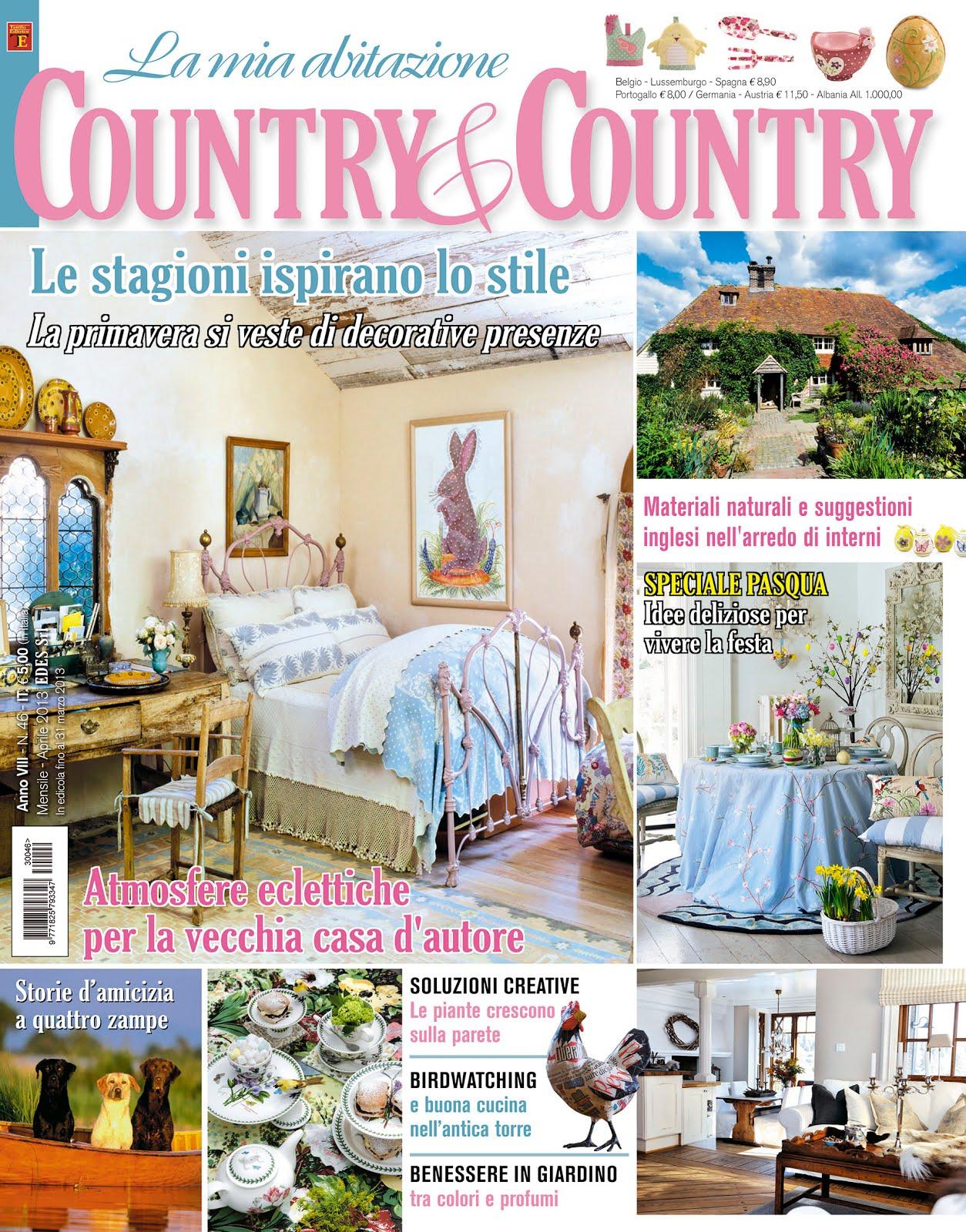 LA MIA ABITAZIONE COUNTRY & COUNTRY - Aprile 2013