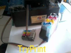 Cara Infus Epson TX121