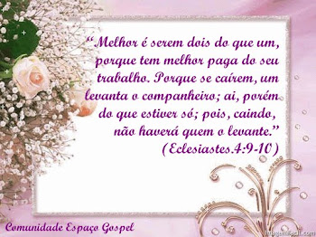 VICTOR - ECLESIASTES 4:9
