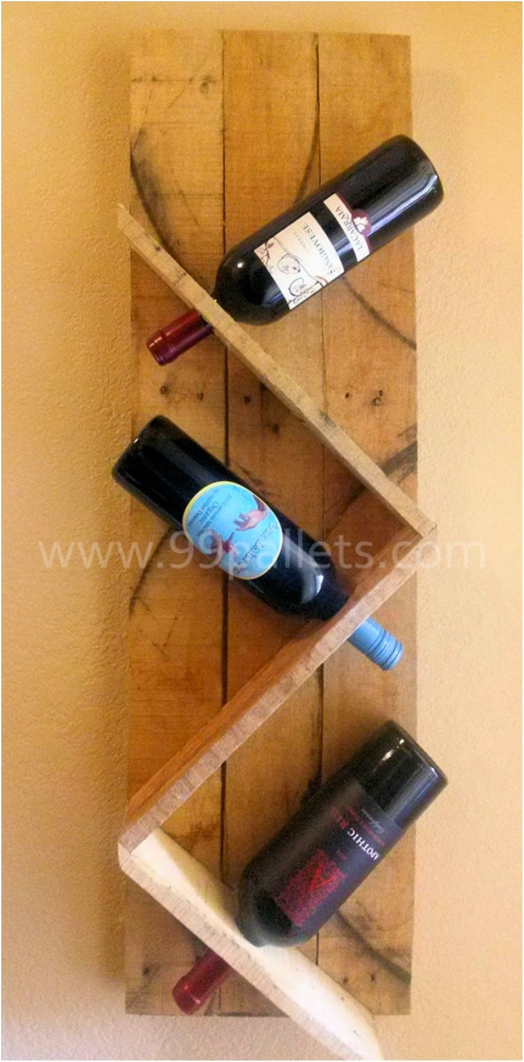 how to recycle recycled wine rack designs. Black Bedroom Furniture Sets. Home Design Ideas