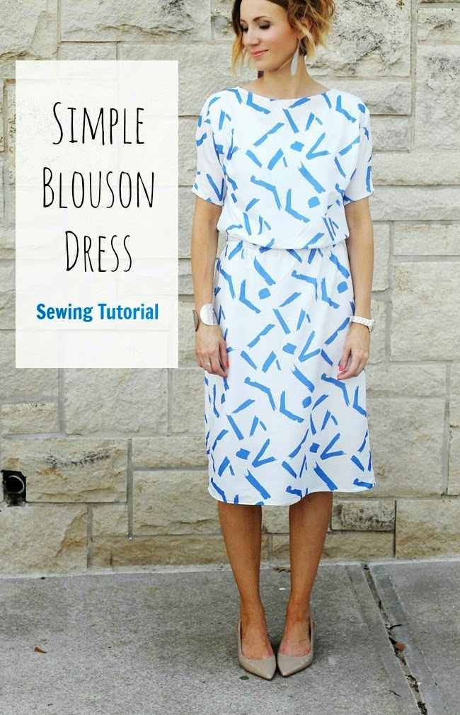 tutorial for sewing a dress