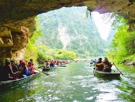 Tour ghep Tràng An - Bái Đính 1 ngày