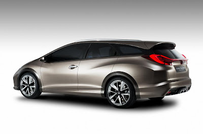 Honda Civic Tourer Concept (2013) Rear Side
