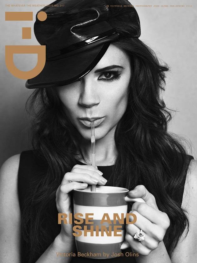 Victoria Beckham for i-D Magazine Pre-Spring 2012