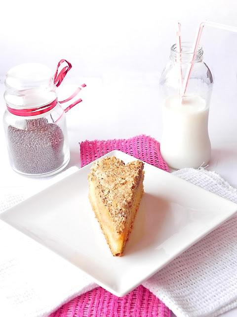 Prajitura cu nuca si caramel