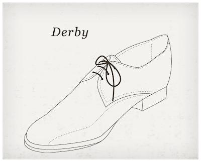 Was ist ein Derby Schuh?