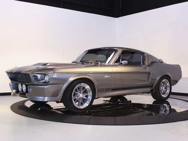 1967 Ford Shelby Gt500e Supersnake Eleanor Byffer