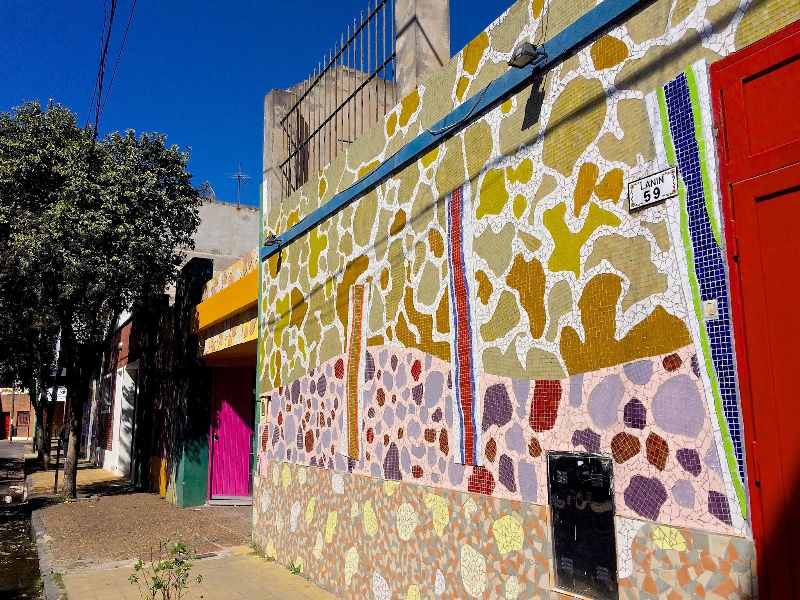 Resultado de imagen para El mural Pasaje Lanín