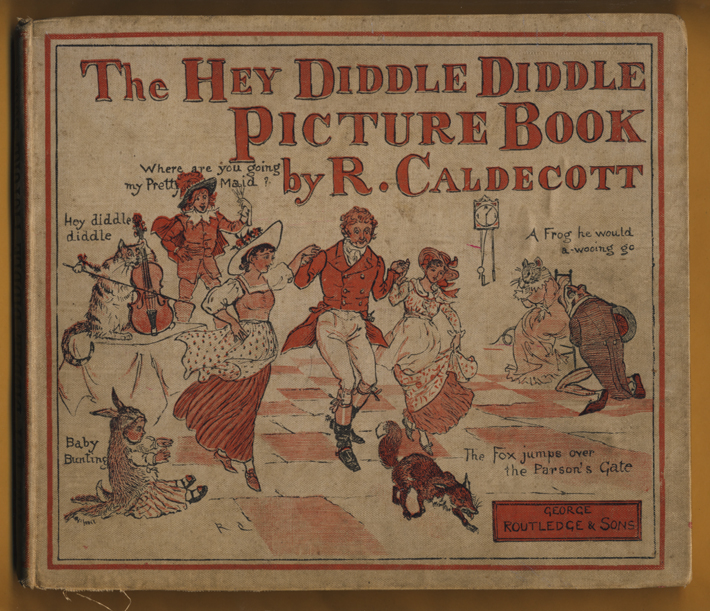 sergio ruzzier the hey diddle diddle picture book by r caldecott