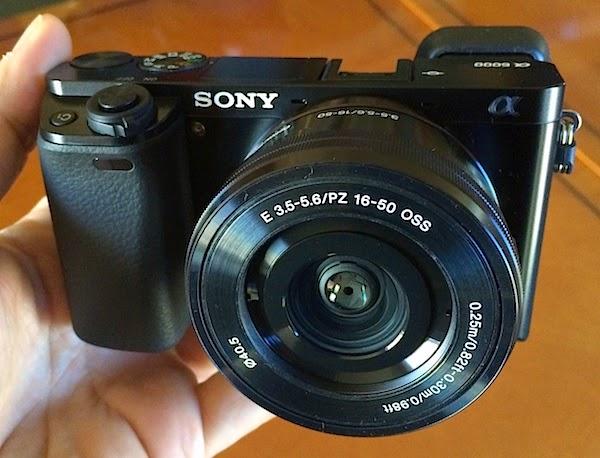 Cámara Digital Sony Alpha A6000