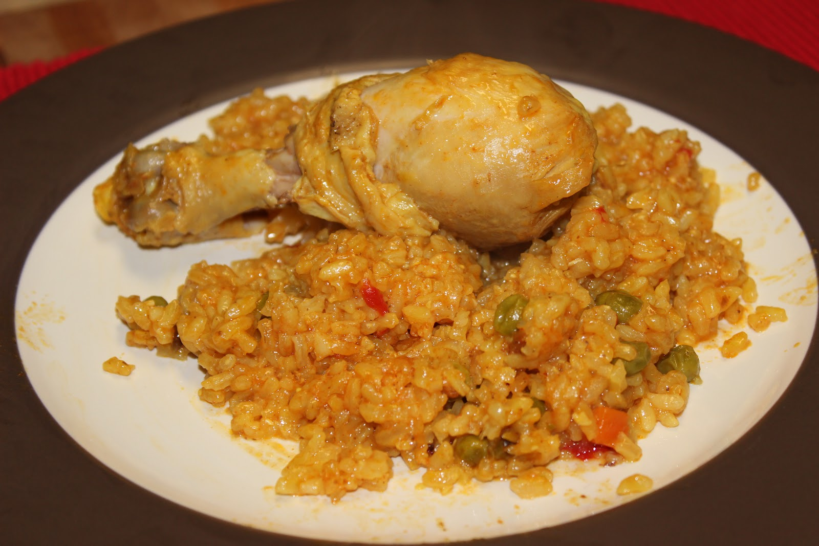 The Cookbook Project: Sunset Chicken and Rice