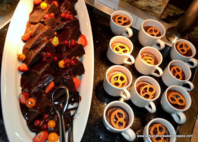 dairy free desserts in Horizon Amwaj Rotana