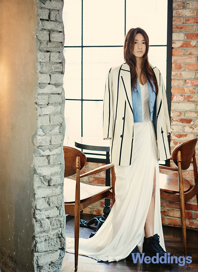 Seolhyun AOA Ace of Angels - InStyle Weddings Magazine February Issue 2014