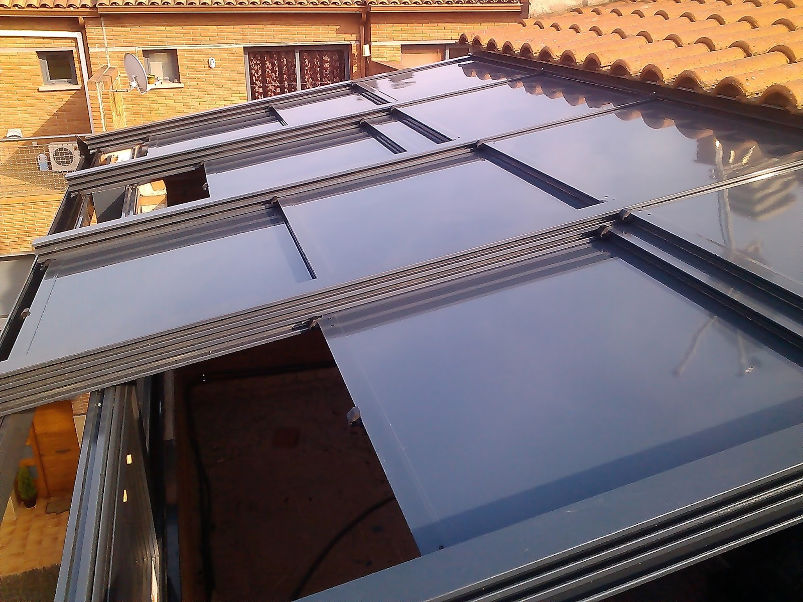 Aluminios arpo techo de aluminio - Techo de aluminio ...