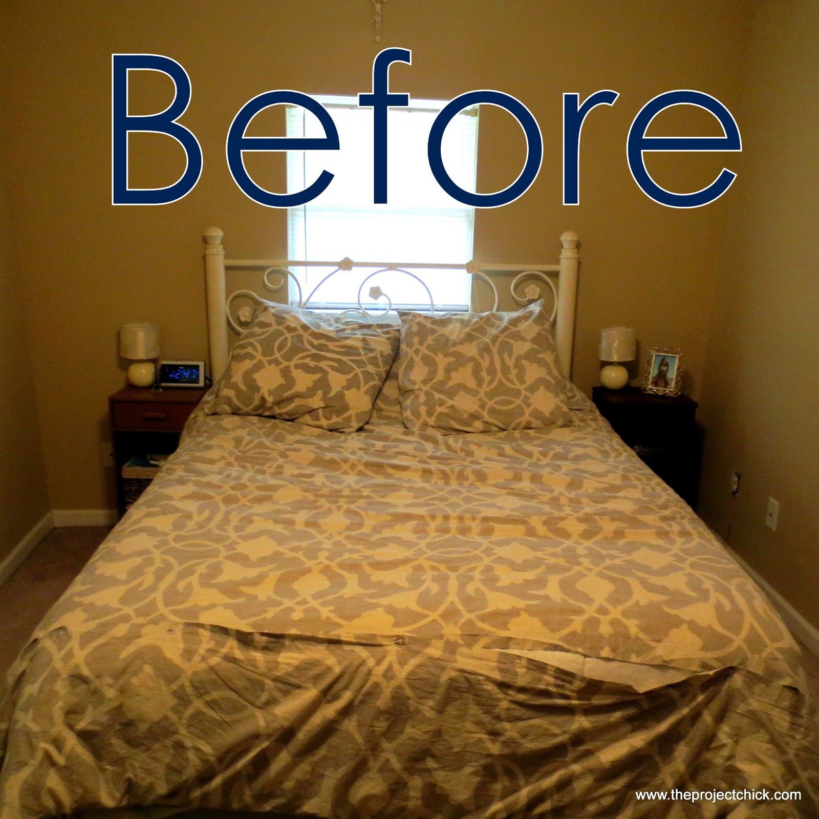 The Project Chick: Refinishing Our Bedroom Furniture
