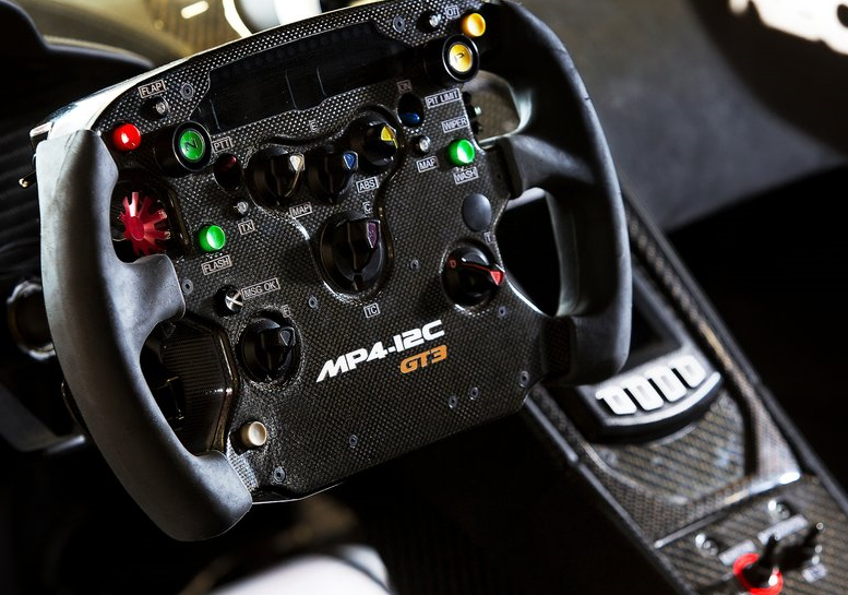 2011 McLaren MP4-12C GT3 Interior