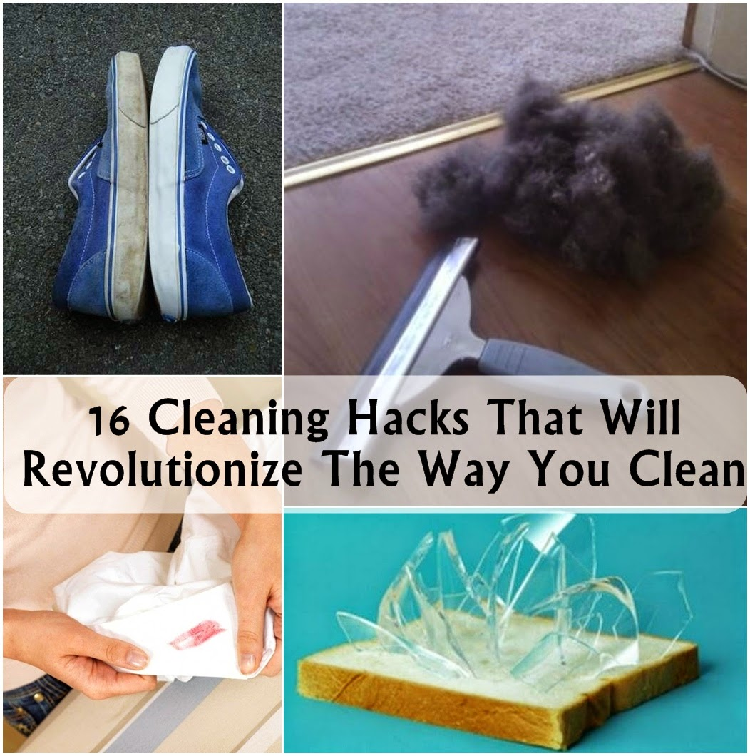 16 Cleaning Hacks That Will Revolutionize The Way You Clean