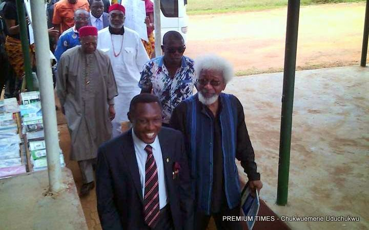 soyinka comment about igbo people