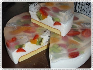 puding pavlova  hantaran