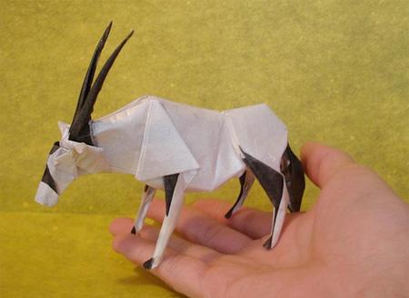 Origami antílope