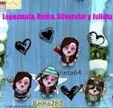 Con mis amigas en la cascada :)