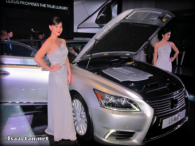 The all new Lexus LS460L, retailing at a cool RM859,448 OTR without insurance