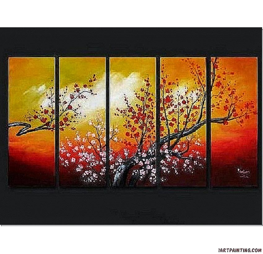 Stunning Abstract Painting Acrylic Canvas Art Decor For Living