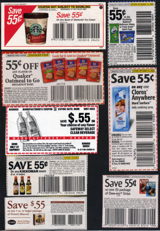 About Our Grocery Coupons. Saving money on groceries is something everyone can appreciate. To help you get the best prices at your favorite supermarkets, we've collected these free printable grocery coupons. They can be used for hundreds of different brands and manufacturers, with new offers available all the time.