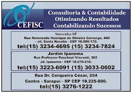CEFISC CONSULTORIA E CONTABILIDADE