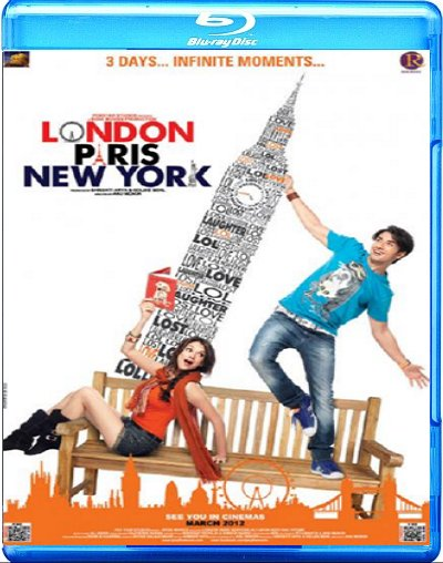 London Paris New York (2012) 720p Upscaled DVDRip Videos