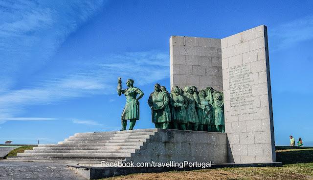monumento a mulher pescadora