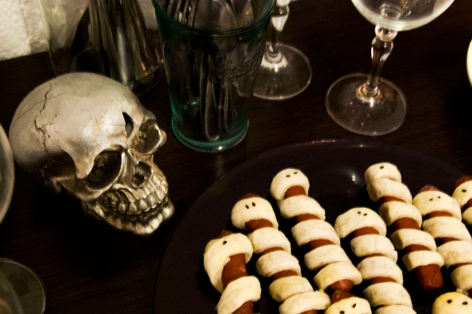 decoracion-de-halloween-y-cena