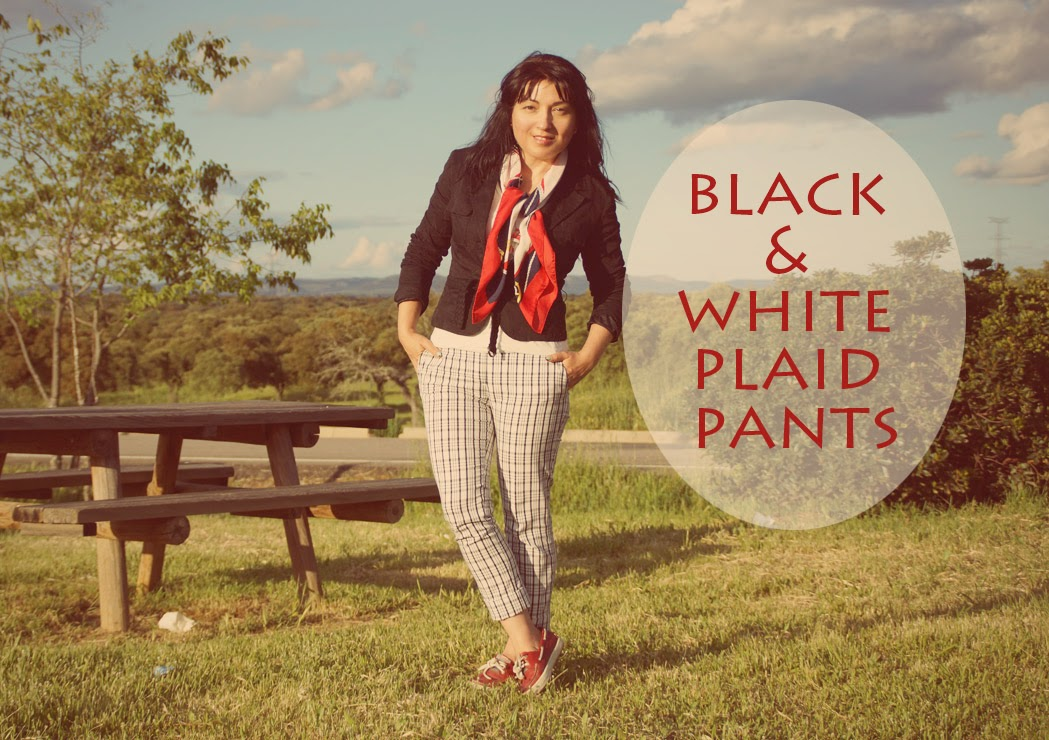 black+and+white+plaid+pants