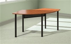 Mayline Encounter Crescent Table