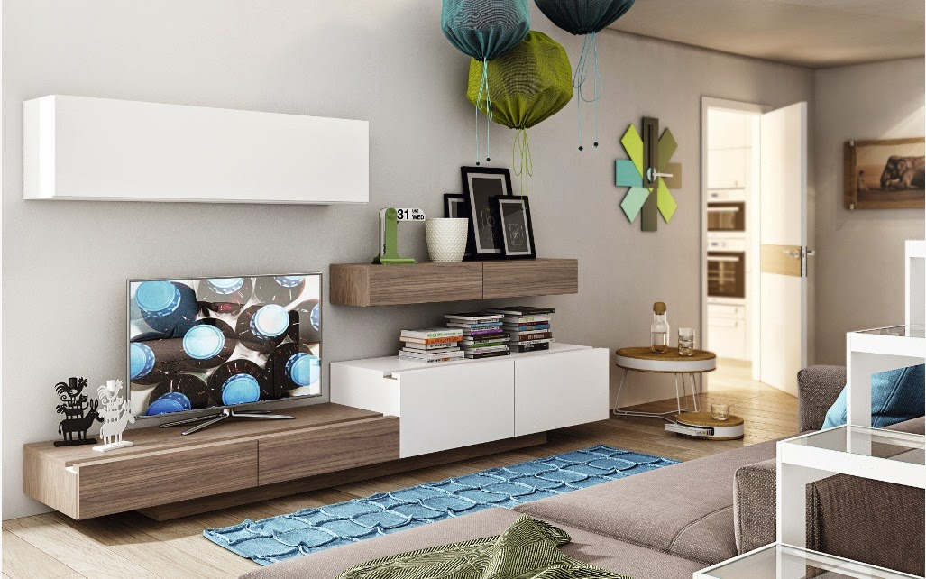 Tienda muebles modernos muebles de salon modernos salones - Decorar salones cuadrados ...