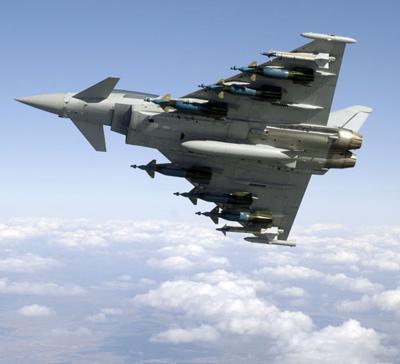 Eurofighter Typhoon Savaş Uçağı Hakkında Bilgi