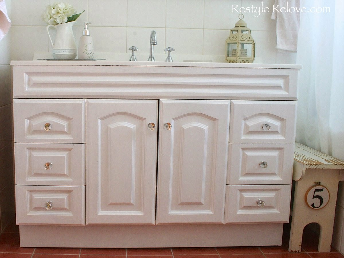 Bathroom Vanity Makeover Part 2 pleted