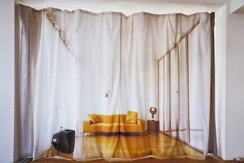 Optical Illusion Curtains