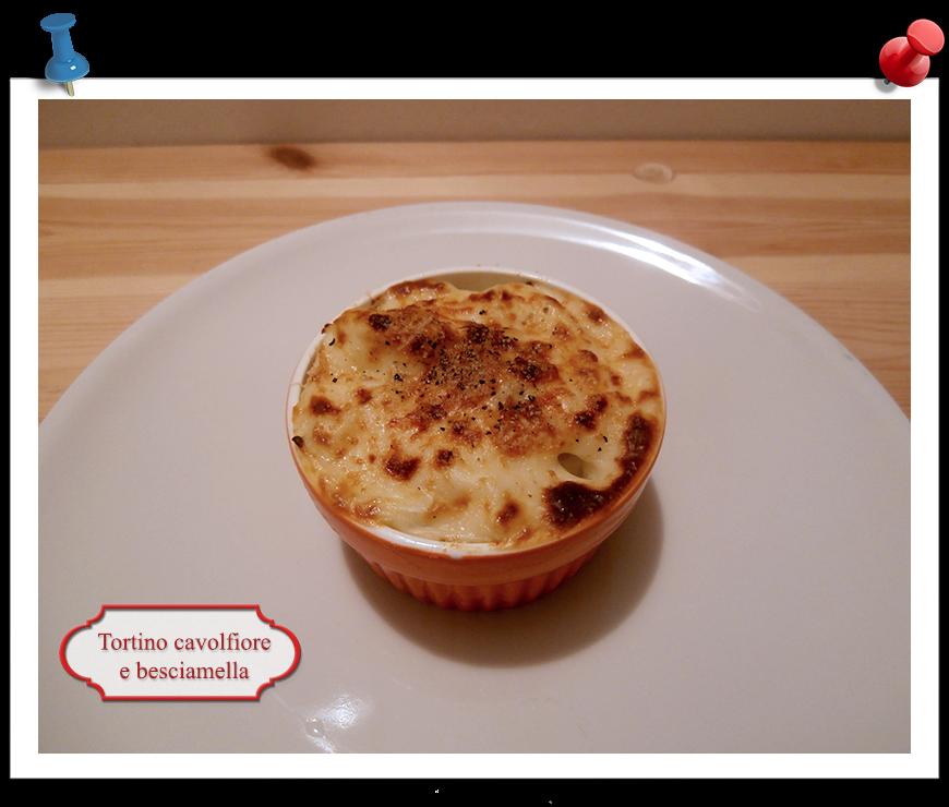 Tortino cavolfiore e besciamella imparare l 39 arte della - Imparare l arte della cucina francese ...