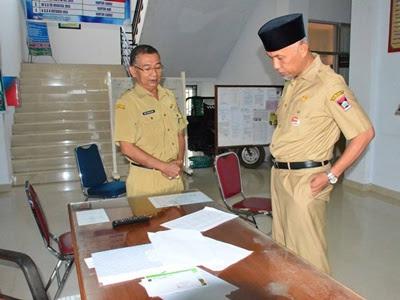 Sidak Ke Kantor Camat Nanggalo Kehadiran Pegawai 100 Persen Bentengsumbar Com