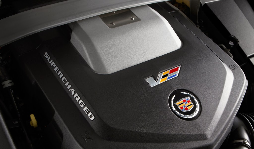 2015 Cadillac CTS-V Coupe Engine