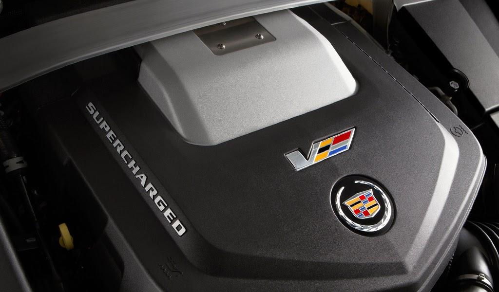 2015 Cadillac CTS-V Coupe Engine