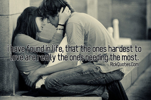 Love Quotes | couple hug kiss romantic