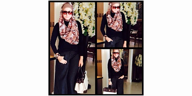 Model Fashion Berhijab Syar'i Artis Ineke Koesherawati Terbaru 2014