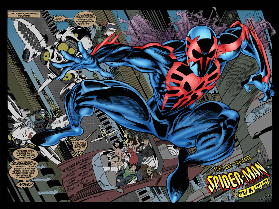 The Amazing Spider Man Many Looks Of Spider Man 2099