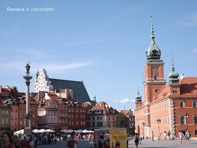 Varsavia, città vecchia, polonia, travel blogger