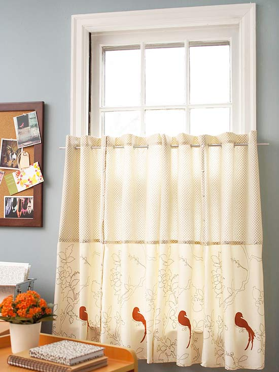 No Sew Diy Curtains And Shades Home Appliance