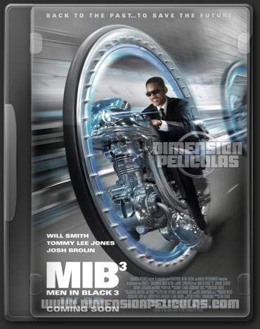 Men In Black 3 (DVDRip Español Latino) (2012)
